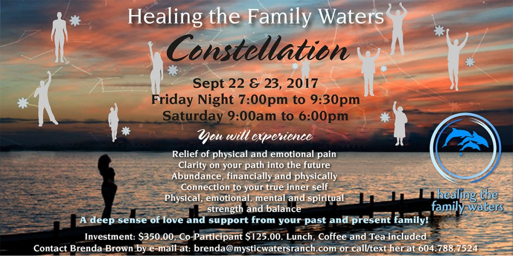 Healing the Family Waters Constellation Workshop @ Mystic Waters Ranch | Langley | British Columbia | Canada