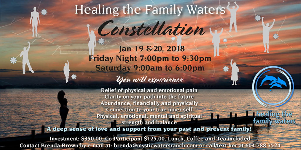 Constellation Workshop 2018 (Friday evening program) @ Mystic Waters Ranch | Langley | British Columbia | Canada